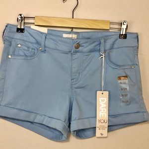 Celebrity Pink NWT Women Dare You Colors Shorts 9